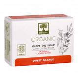 Bioselect Pure Olive Oil Soap Håndsæbe m Morgenfrue og Sheasmør (80 g)