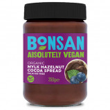 Bonsan Smørepålæg Hasselnød/Kakao Ø (350 g)