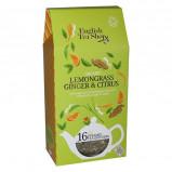 English Tea Shop Lemongrass, ginger, citrus tea Ø Silken pyramid infuser (16 g)