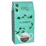 English Tea Shop Peppermint Fairtrade tea Ø Silken pyramid infuser (16 g)