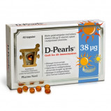 Pharma Nord D-Pearls 38 µg- (40 tabletter)