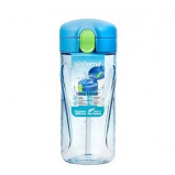 Drikkedunk Quick Flip 520 ml m. sugerør ,pink, grøn, blå, lilla