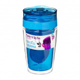 Termo kop til the 370 ml pink, blå, lime, melon, lilla Sistema