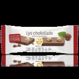 EASIS Lys Chokoladebar m. Nødder (24 g)