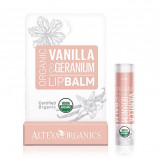 Alteya Organics Lipbalm Vanilla Geranium (5 g)