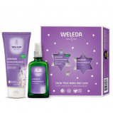 Gaveæske Calm Your Mind & Skin Body oil 100ml,Body wash 200ml
