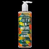 Faith In Nature Håndsæbe Grape & Orange (400 ml)