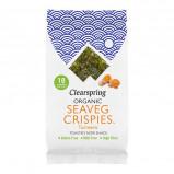 Clearspring Tang chips Gurkemeje Ø (Seaveg Crispies) (4 g.)