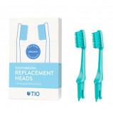 TIO Udskiftelige Tandbørstehoveder Grøn (Soft 2 stk)