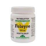 Natur Drogeriet Super Folsyre Økonomikøb (180 tabletter)
