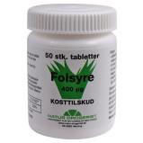Natur Drogeriet Folsyre (50 tabletter)