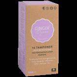 Ginger Organic Tampon m. Indføring Normal (14 stk)