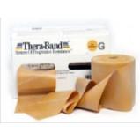 Thera-Band elastik bånd 45m (Guld - Ekstrem hård)