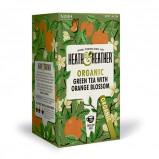 Heath & Heather Organic Green Tea & Orange Blossom (20 breve)
