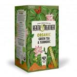 Heath & Heather Organic Green Tea & Turmeric (20 breve)