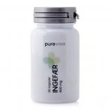 Pureviva Ingefær 600 mg (90 kap)