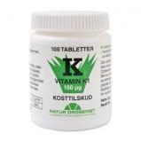 Natur Drogeriet K1-vitamin 150 mcg (100 tabletter)