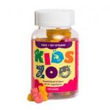 Kids Zoo Kalk og D Børnevitamin - Tyggebjørne (60 Stk)