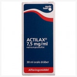 Actilax Oral Dråber 7,5 mg (30 ml)