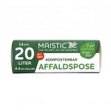 Maistic Komposterbare Affaldsposer 20L (14 stk)