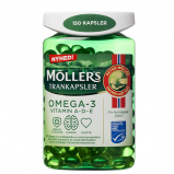 Møllers Tran Kapsler (150 stk)