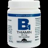 Natur Drogeriet B1 Vitamin 25 Mg (100 tab)