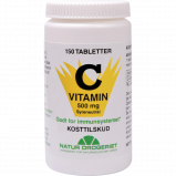 Natur Drogeriet C Syreneutral 500 mg (150 tab)
