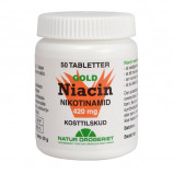 Natur Drogeriet Niacin Nikotinamid 420 mg (50 tab)