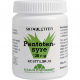 Natur Drogeriet Pantotensyre 120 mg (50 tab)