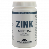 Natur Drogeriet Zink 22 mg tabletter (100 stk)