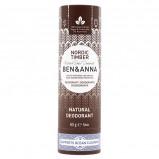 Ben & Anna natural deodorant Nordic Timber Papertube (60 g)