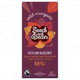 Naturesource Mørk Chokolade 58% Hasselnød Ø (85 g)