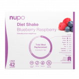 Nupo Diet Shake Blueberry Raspberry (42x32 g)