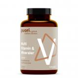 PUORI Multi Vitamin & Mineraler (60 kapsler)