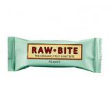 Rawbite Peanut - Laktose- og glutenfri frugt- og nøddebar Ø (50 gr)
