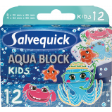 Salvequick Aqua Block Kids (12 stk)