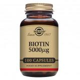 Solgar Biotin 5000ug (100 kap)