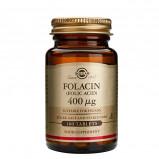 Solgar Folinsyre (Folacin) 400 mcg (100 tabletter)