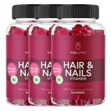 3 x VitaYummy Hair & Nails Gummies (60 stk)