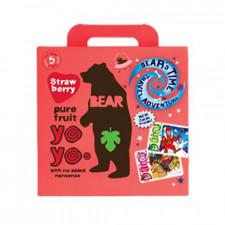 Bear Yoyo multipak jordbær (5x20 gr)
