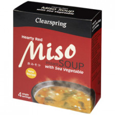 Clearspring Instant Miso Soup - Hearty Red (40 gr)