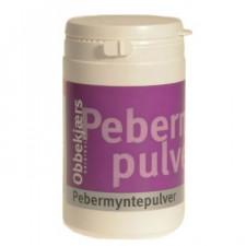 Obbekjærs Pebermyntepulver 170 gr.
