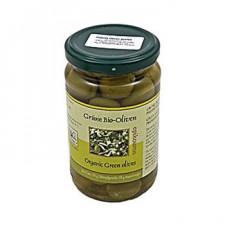 Oliven grønne m. sten Ø (320 gr)