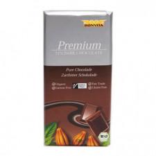 Chokolade mørk hasselnød 71% Ø 100 gr.
