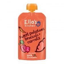 Ellas Kitchen Babymos Kartoffel/Broccoli gulerod Ø 4 Mdr (120 gr)
