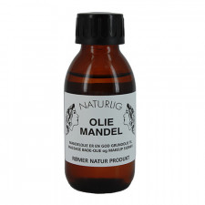 Mandelolie Koldpresset 100 ml.