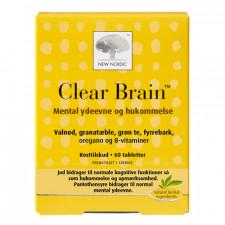 New Nordic Clear Brain (60 tab)