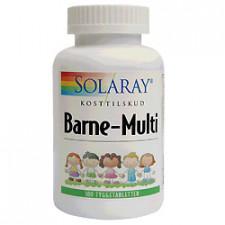 Solaray Barne-Multi tyggevitaminer til børn (100 tabletter)