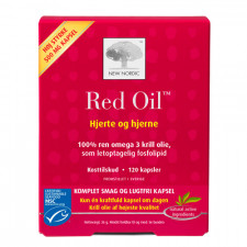 Red Oil Omega 3 Krill Olie (120 kap)