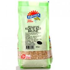 Ris korte brune Ø 500 gr.